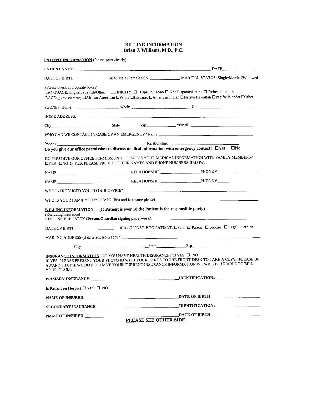 New Patient Forms Medical Paperwork on new patient registration, new patient podiatry forms, new patient information template, new patient questionnaire form, new patient paper neurobergen, new patient forms dr office, new patient forms in pdf,
